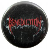 Benediction - 'Logo' Button Badge